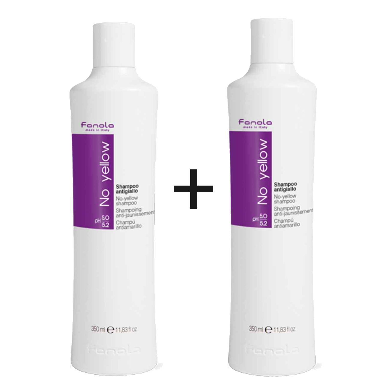 Fanola No Yellow Shampoo 2x 350ml Set
