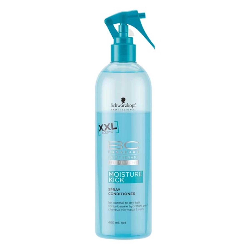 Schwarzkopf BC MOISTURE KICK Feuchtigkeits-Spray-Conditioner 400 ml