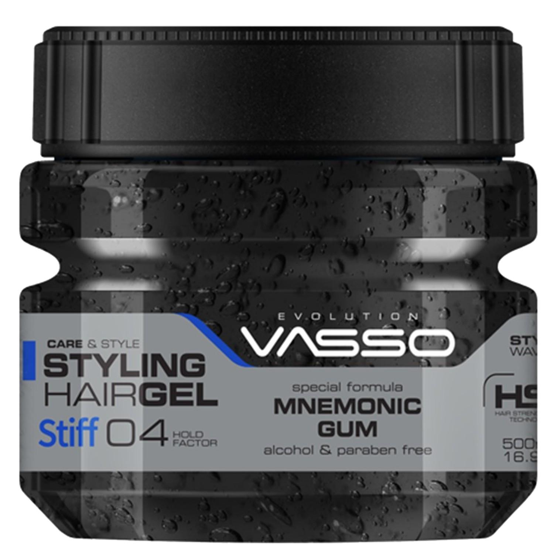 VASSO MNEMONIC GUM Styling Hairgel ¨STIFF¨ 500 ml