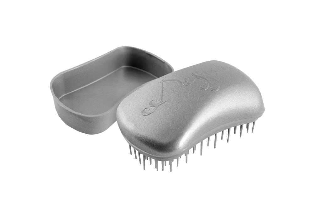 Dessata Mini-Anti-Tangle Bürste silver
