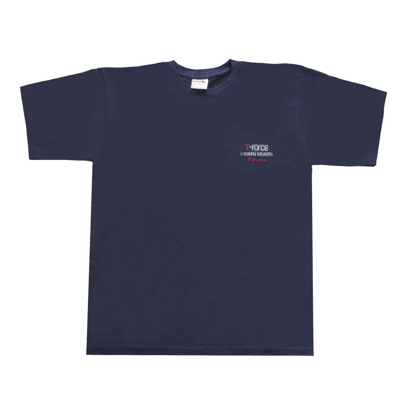 Fanola T-Shirt T-FORCE Azurblau