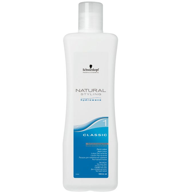 Schwarzkopf NATURAL STYLING Classic Well-Lotion 1, 1 L