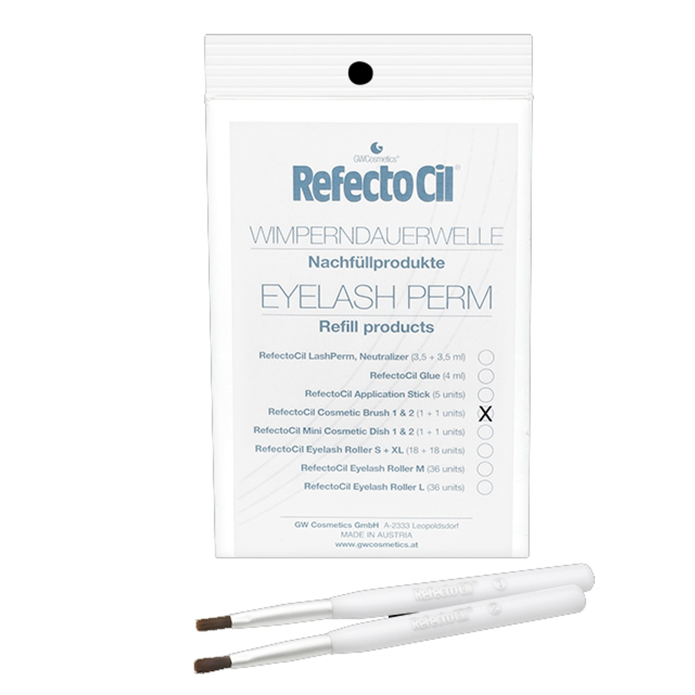 RefectoCil Eyelash Curl Refill Kosmetikpinsel 2 St.
