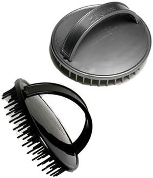 DENMAN D6 Shampoo-Massage-Bürste schwarz