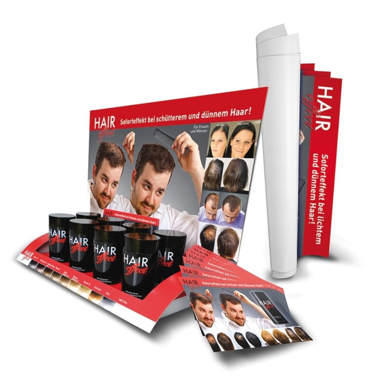 Leerdisplay für 8 Dosen Hair Effect Ansatz-Kaschierung 26 g