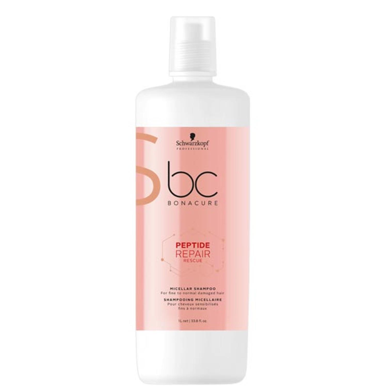Schwarzkopf BC PEPTIDE REPAIR RESCUE Micellar Shampoo 1 L
