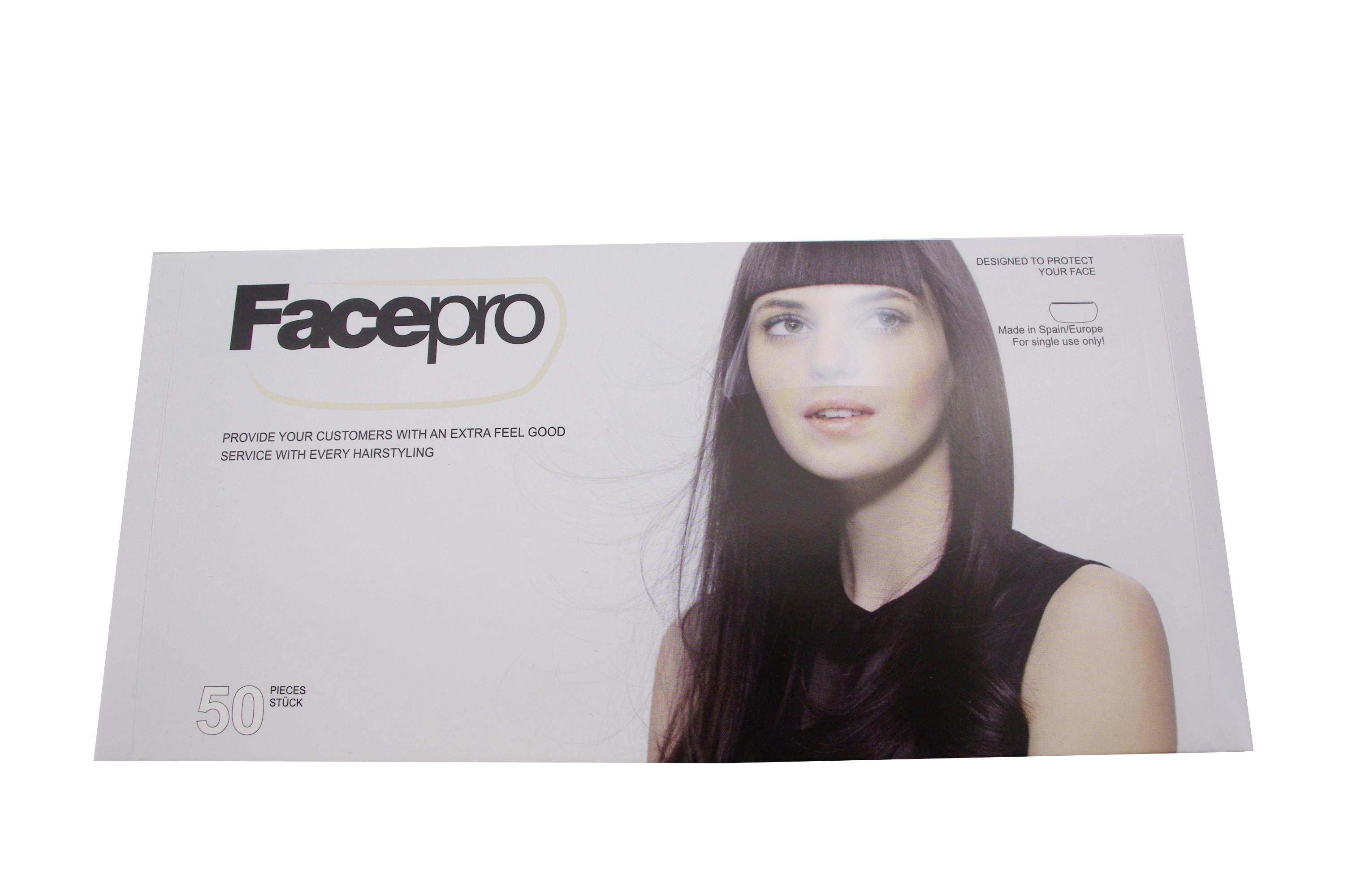 FACEPRO Gesichtsschutz 50 St.