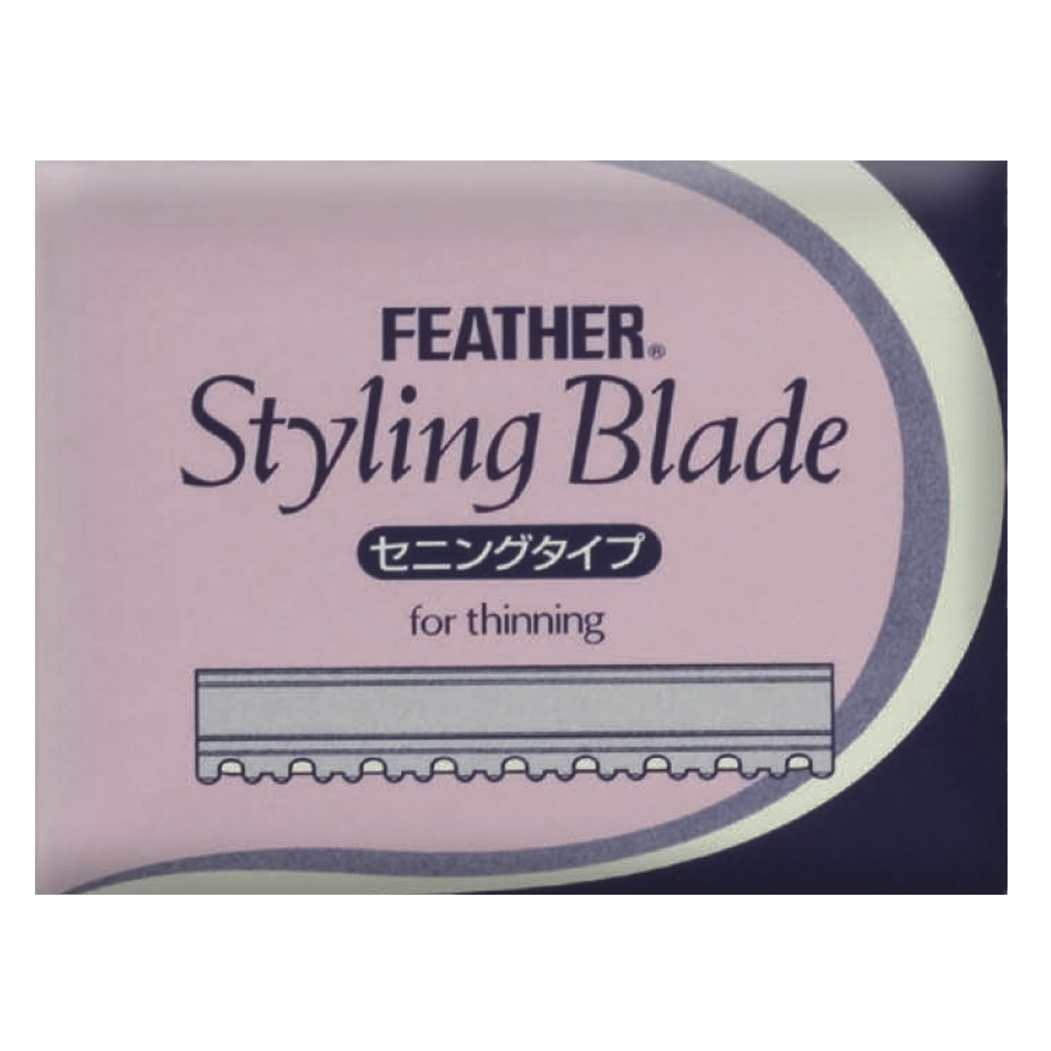 FEATHER Styling Blade Klingen FOR THINNING 10 St.
