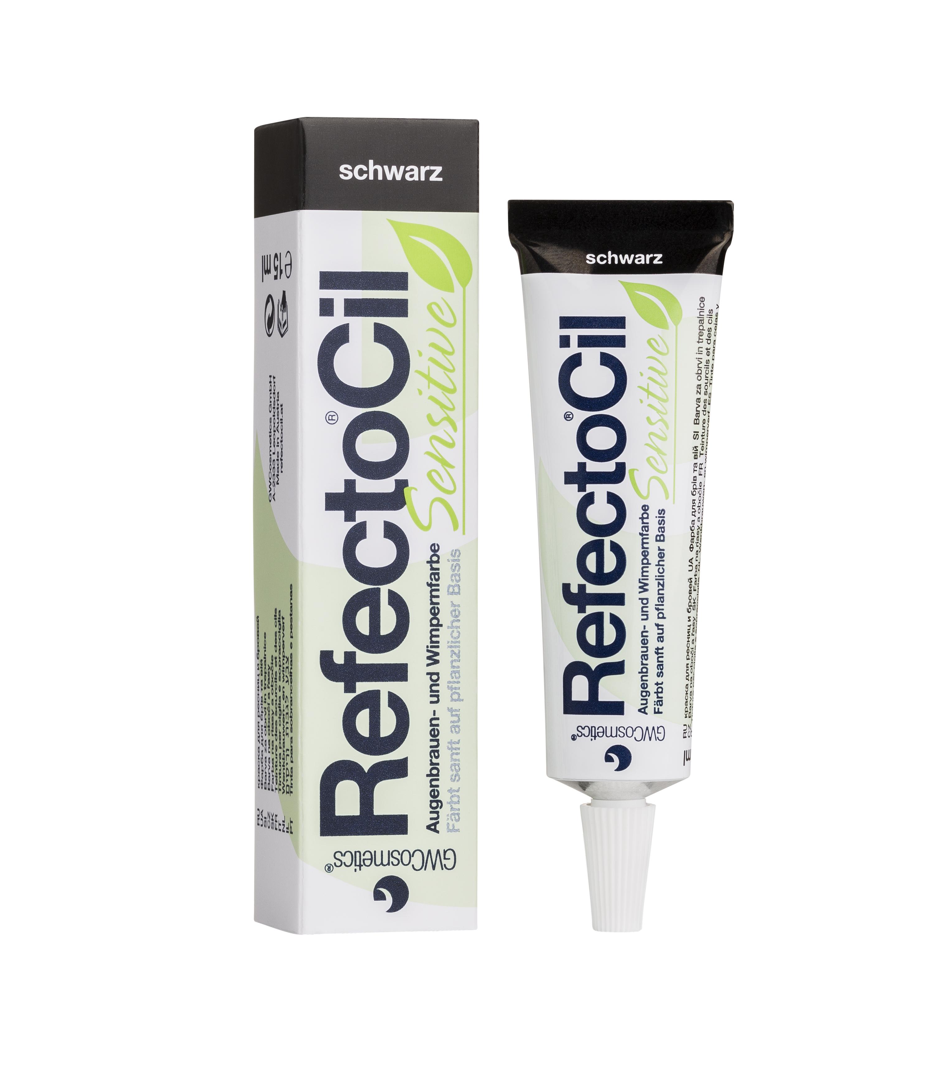 RefectoCil Sensitive Augenbrauen- und Wimpernfarbe 15 ml