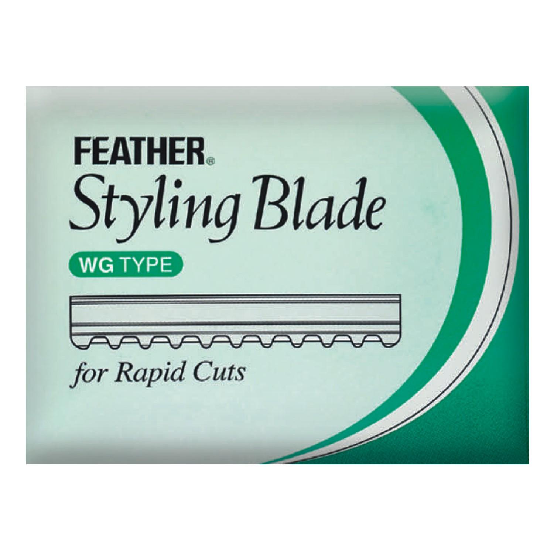 FEATHER Styling Blade Klingen RAPID CUT 10 St.
