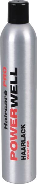 POWERWELL Haarlack starker Halt 500 ml