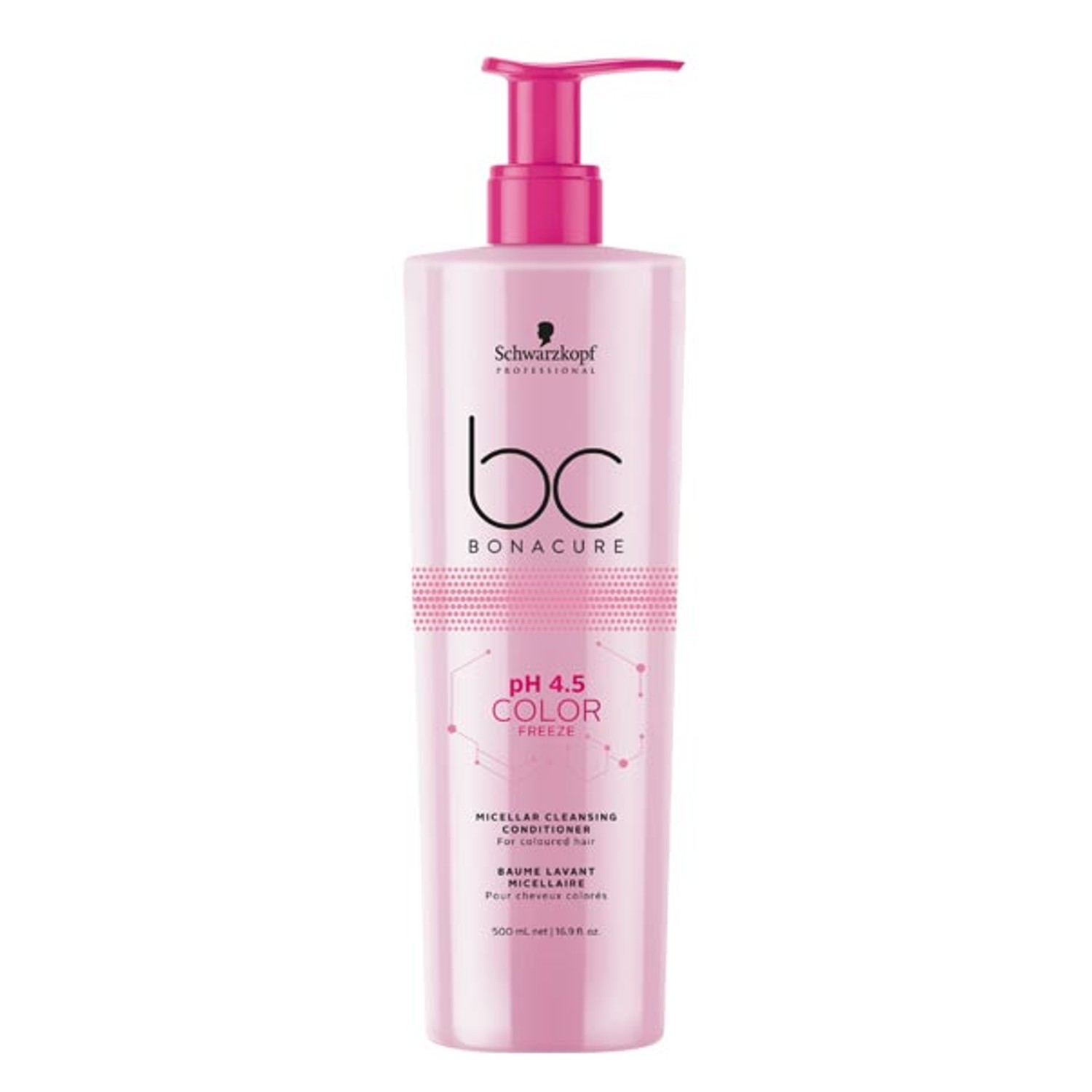 Schwarzkopf BC pH 4.5 COLOR FREEZE Micellar Cleansing Conditioner 500 ml