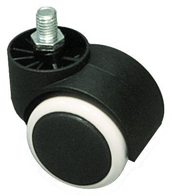 Ersatz-Doppel-Laufrolle für SMOOTH RELAX Rollhocker