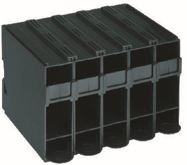 Farbtubenspender 5er Box schwarz