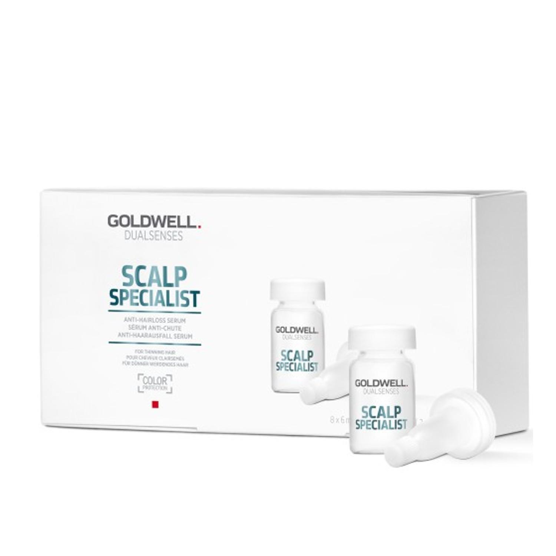 GOLDWELL Dualsenses Scalp Specialist Anti-Hair Loss Serum 8 x 6 ml