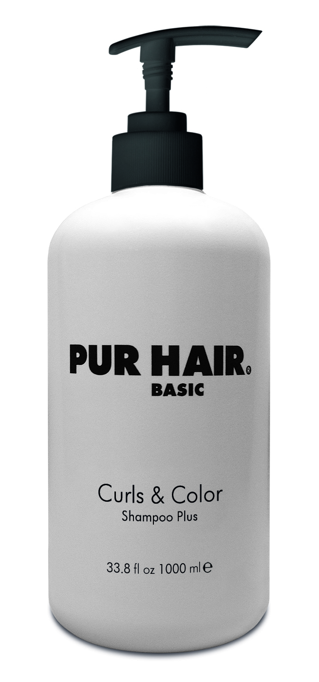 PUR HAIR Basic Curls & Color Shampoo Plus 1 L