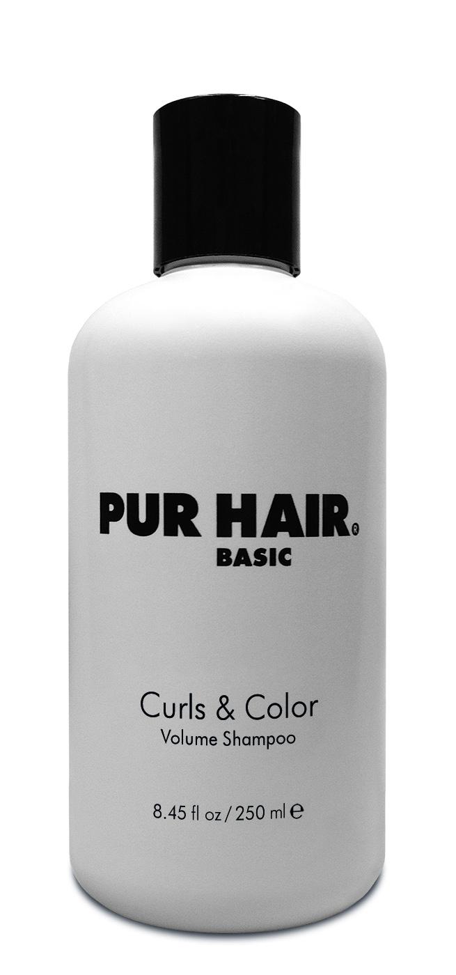 PUR HAIR Basic Curls & Color Volume Shampoo 250 ml