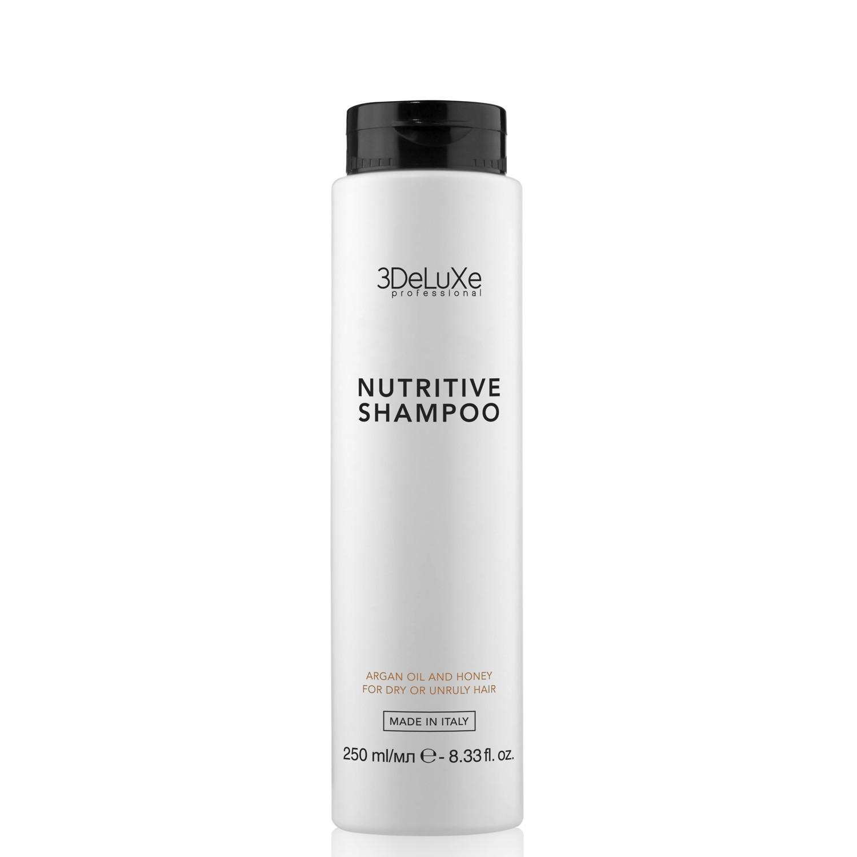3DeLuXe Professional NUTRITIVE Shampoo 250 ml