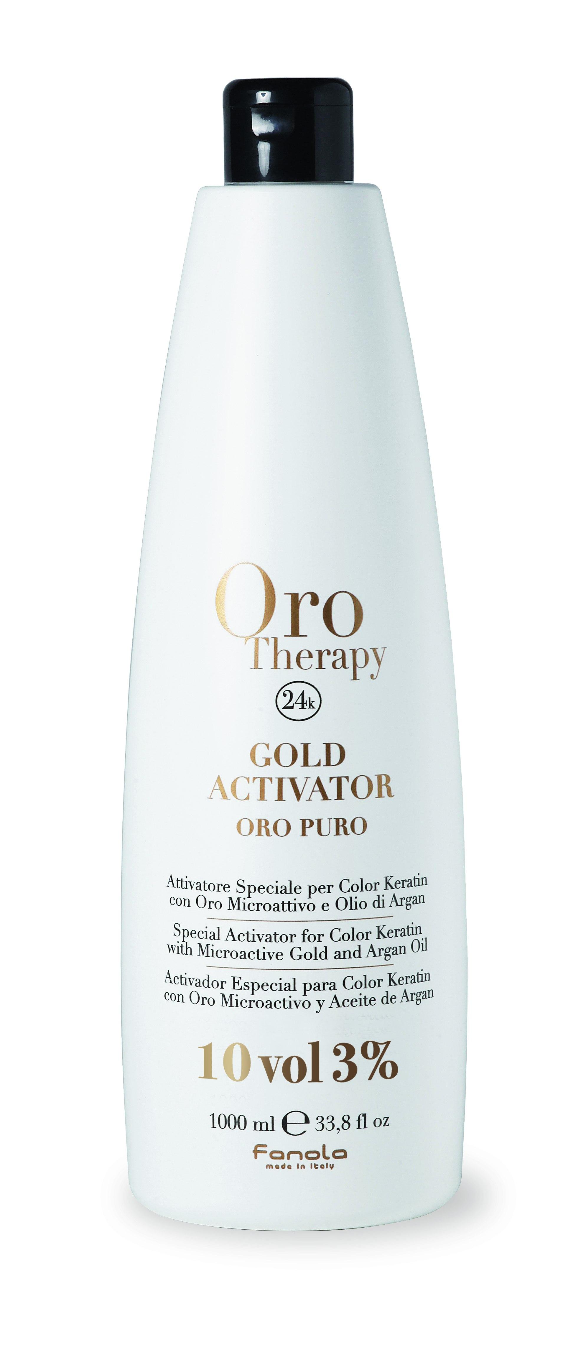 Fanola ORO PURO Therapy Gold Activator 1 L