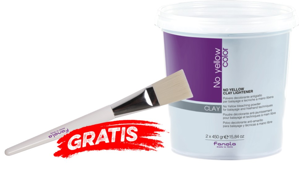Clay Lightener + Balayage Färbepinsel GRATIS