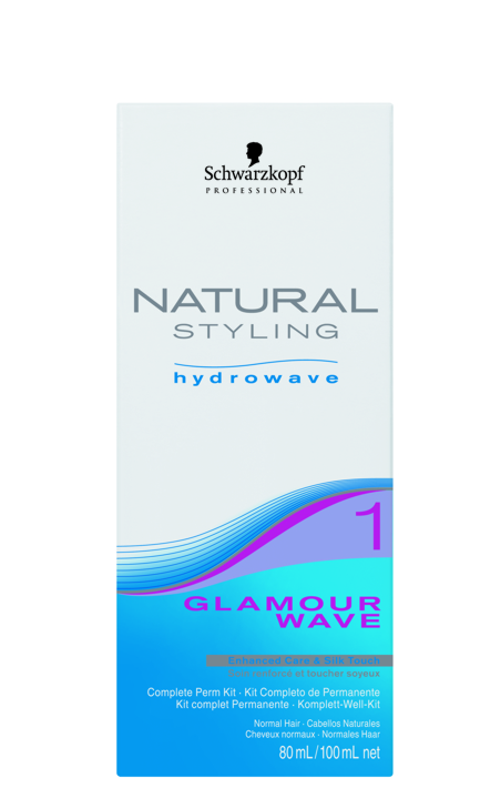 Schwarzkopf NATURAL STYLING Glamour Wave SET 1
