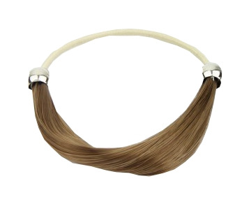 Solida Bel Hair Fashionring MARIE hellbraun
