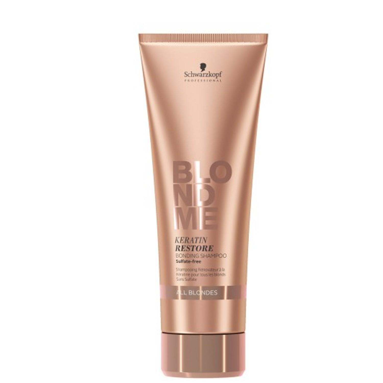 Schwarzkopf BLONDME Keratin Restore Bonding Shampoo All Blondes 250 ml