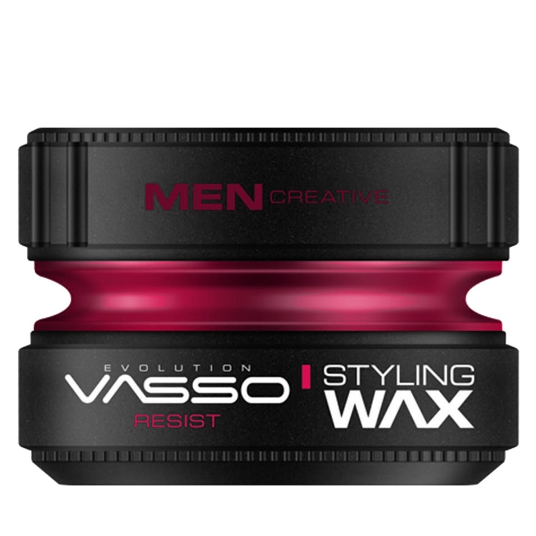 VASSO MEN CREATIVE Styling Wax Pro-Aqua ¨RESIST¨ 150 ml