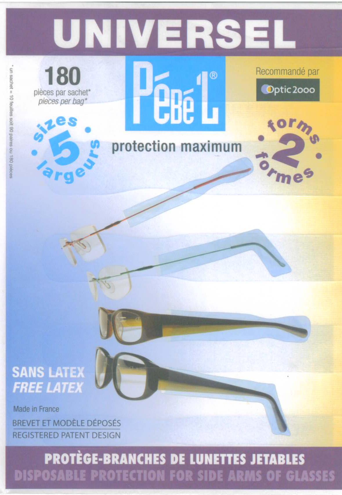 PéBé'L Universel Brillenbügelschutz 180 St.