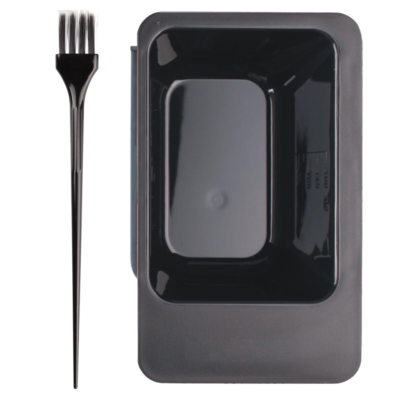 Färbe-Set Balayage metallic schwarz