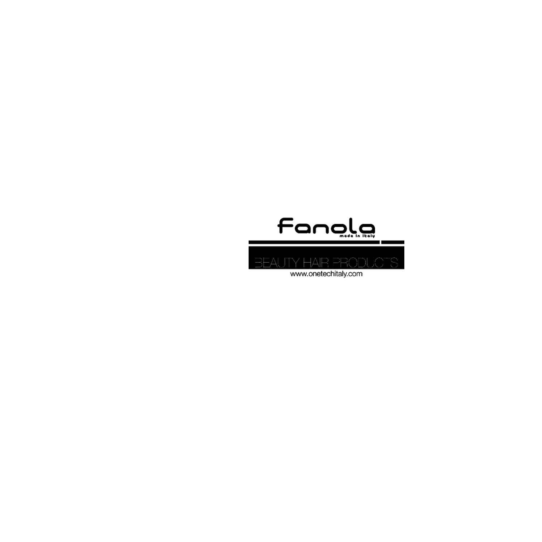 Fanola Schaufenster-Aufkleber