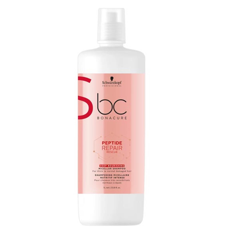 Schwarzkopf BC PEPTIDE REPAIR RESCUE Deep Nourishing Micellar Shampoo 1 L