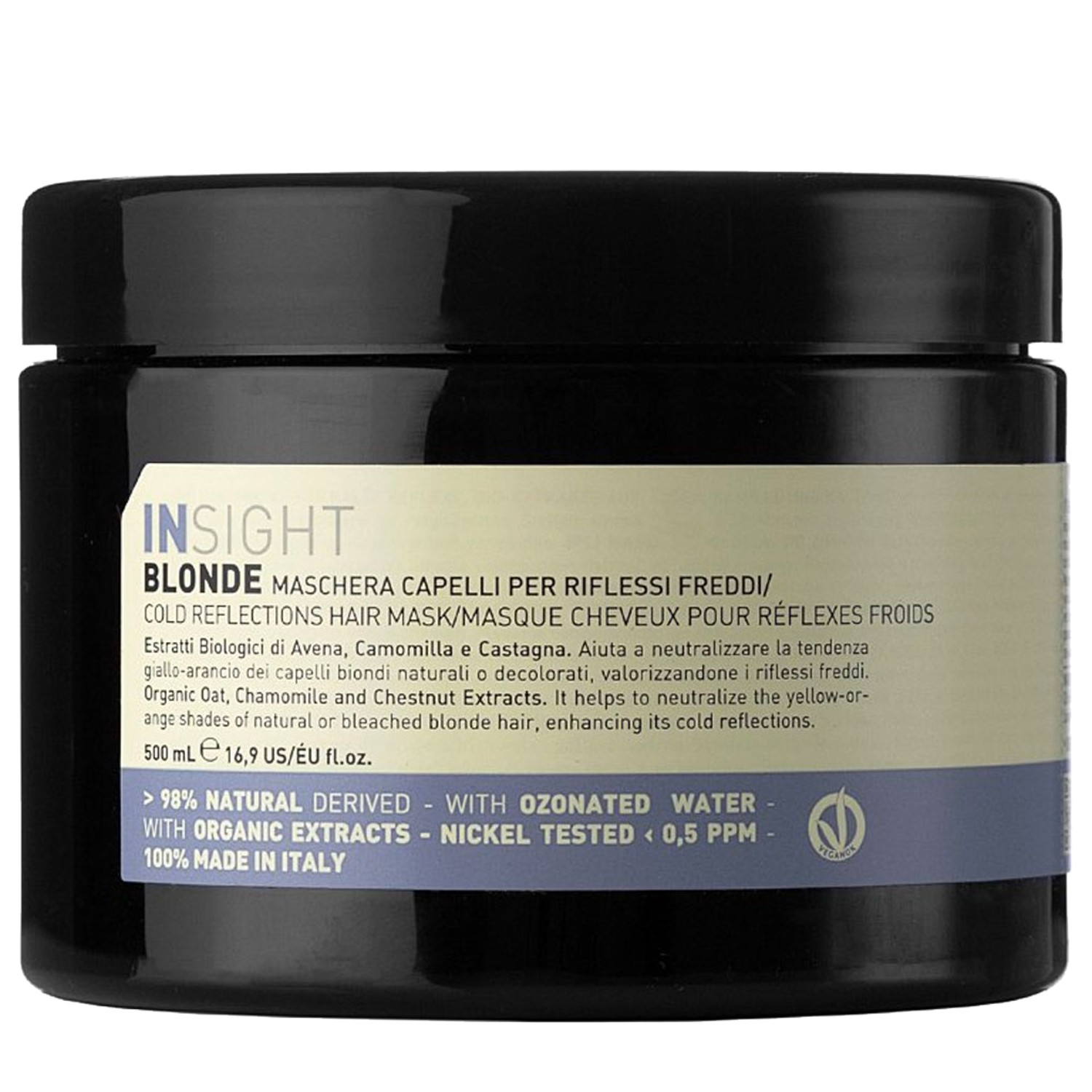 Insight BLONDE Cold Reflections Hair Mask 500 ml