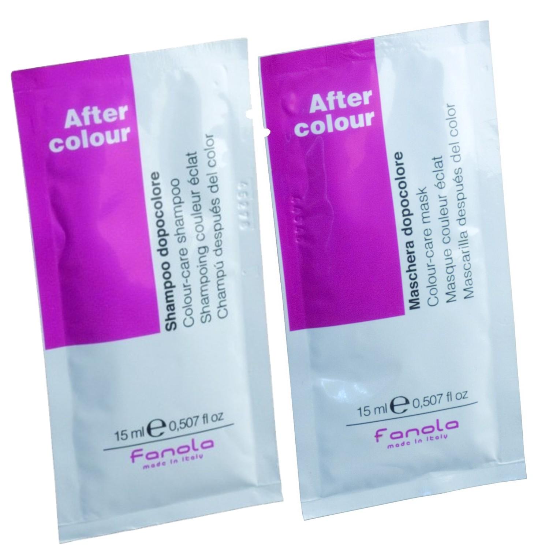 Fanola After Colour Shampoo + After Colour Pflegemaske je 15 ml