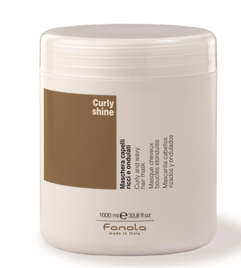 Fanola Curly Shine Haarmaske 1 L