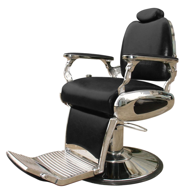 Herren- / Barber-Bedienungsstuhl ARROW schwarz
