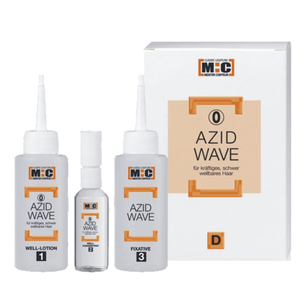 Meister Coiffeur M:C Azid Wave 2 D, 2 x 80 ml