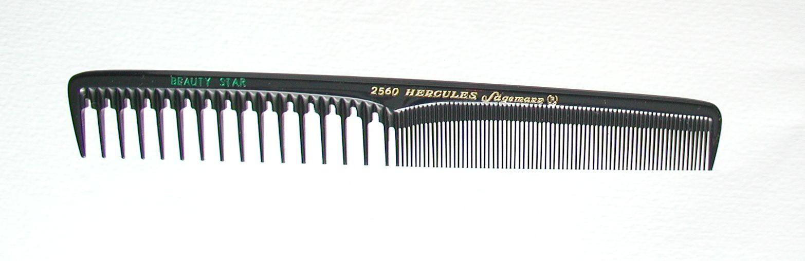 Hercules Sägemann 2560 BEAUTY STAR Haarschneidekamm 7''