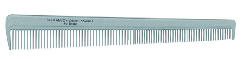 KANSAI Ceramic & Ionic Haarschneidekamm schräg 18 cm