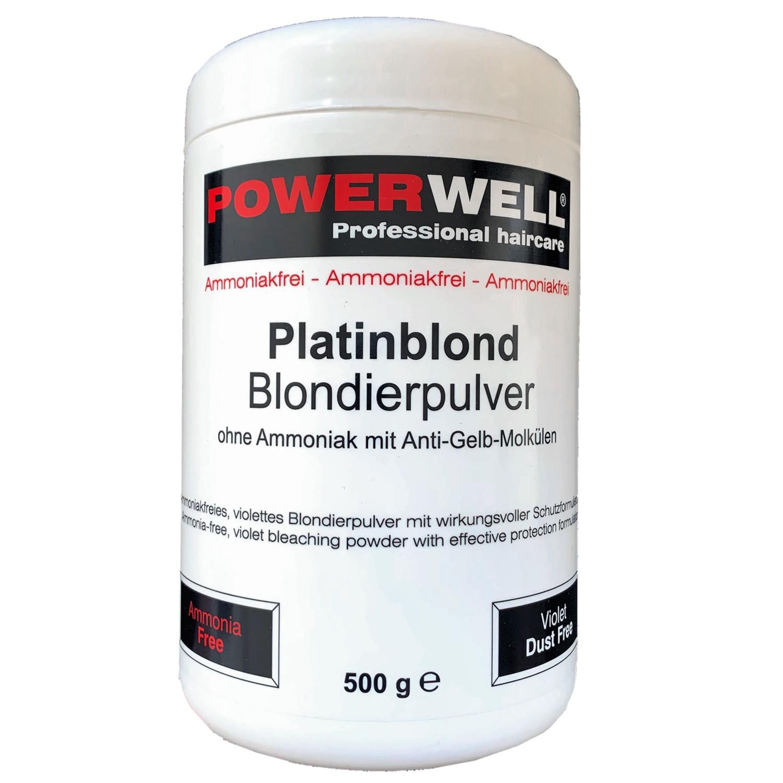 POWERWELL Blondierpulver ohne Ammoniak platinblond 500 g