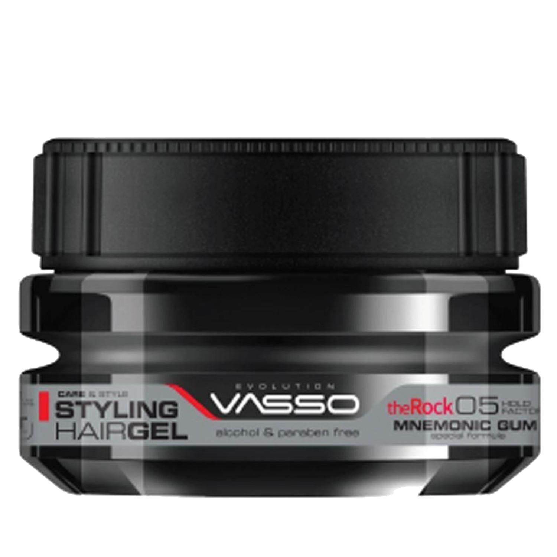 VASSO MNEMONIC GUM Styling Hairgel ¨THE ROCK¨ 250 ml
