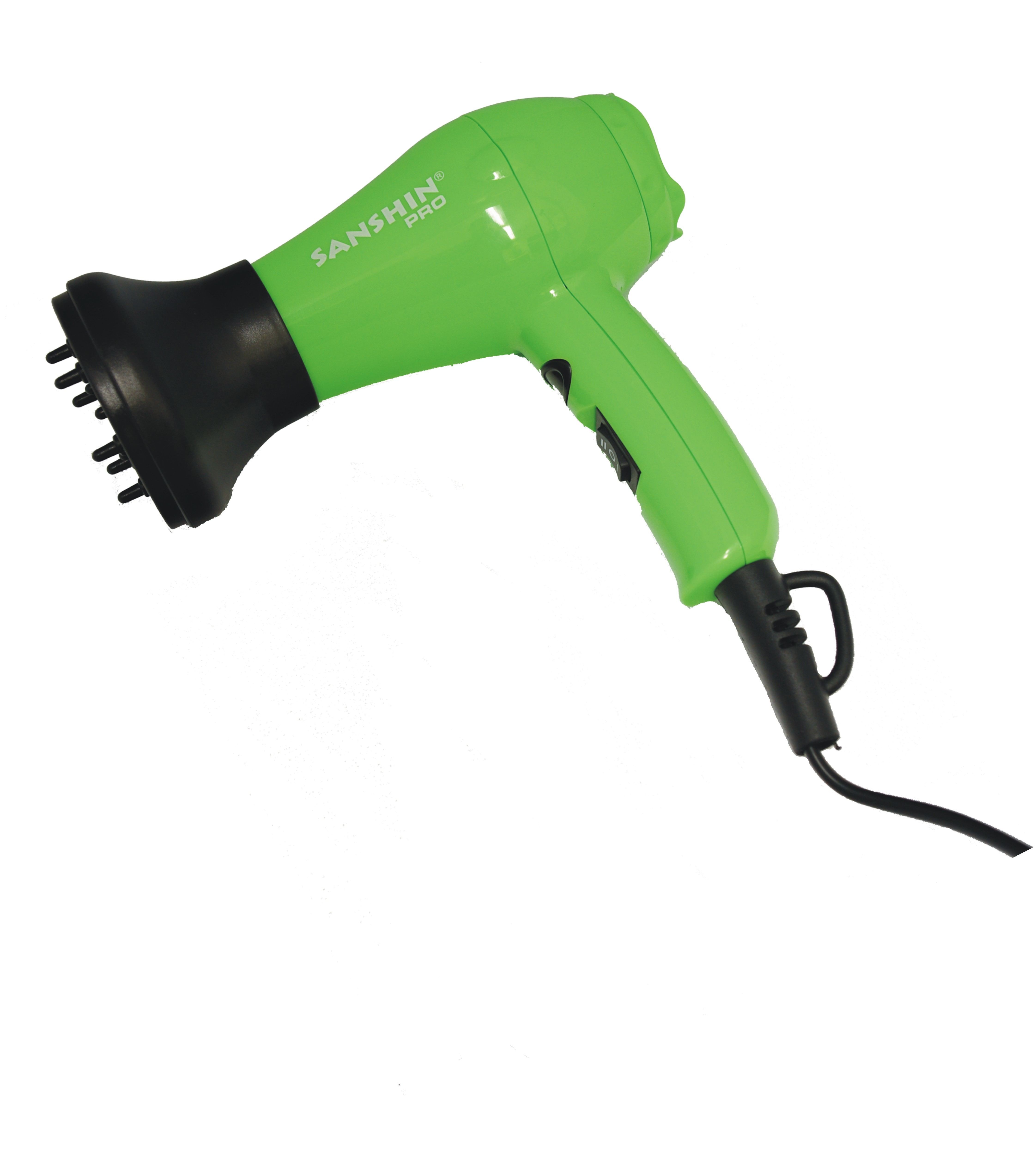 SANSHIN Mini-Haartrockner grün