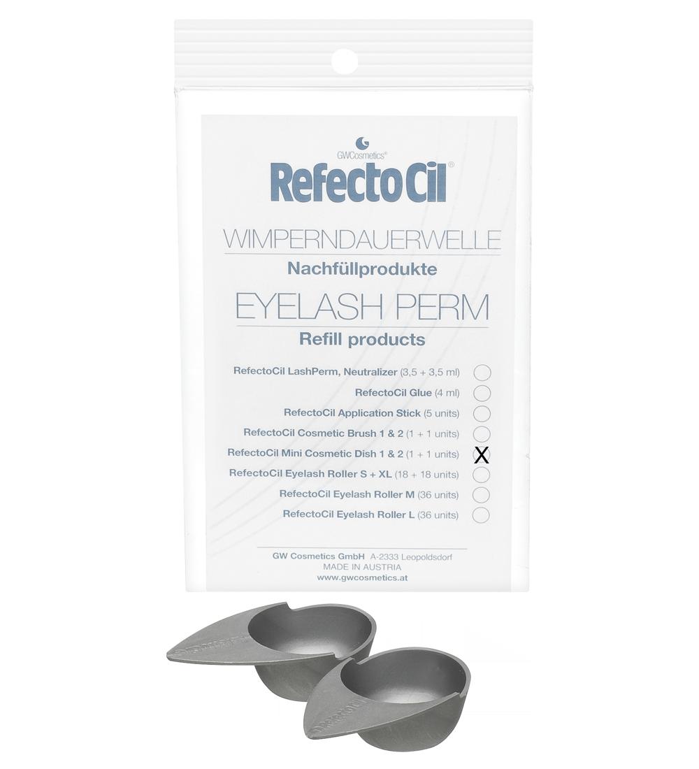 RefectoCil Mini-Kosmetik- und Färbeschale Nachfüllpackung 2 St.