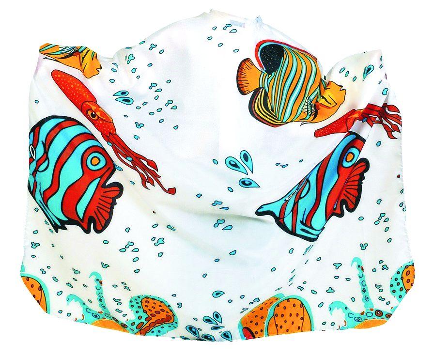 BEAUTY-TEX ''Aquarium'' Kinderumhang (Hakenverschluss)