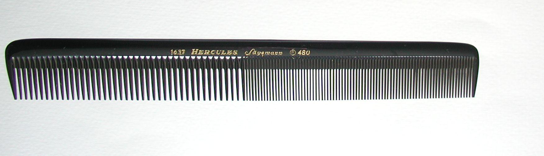 Hercules Sägemann 1637/480 Universalkamm 8,5''