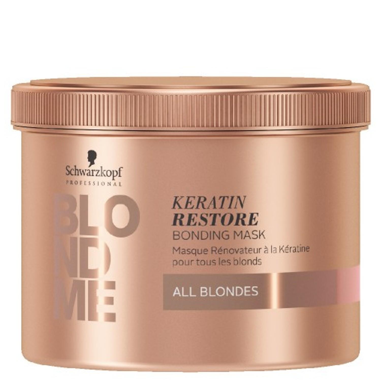 Schwarzkopf BLONDME Keratin Restore Bonding Mask All Blondes 500 ml