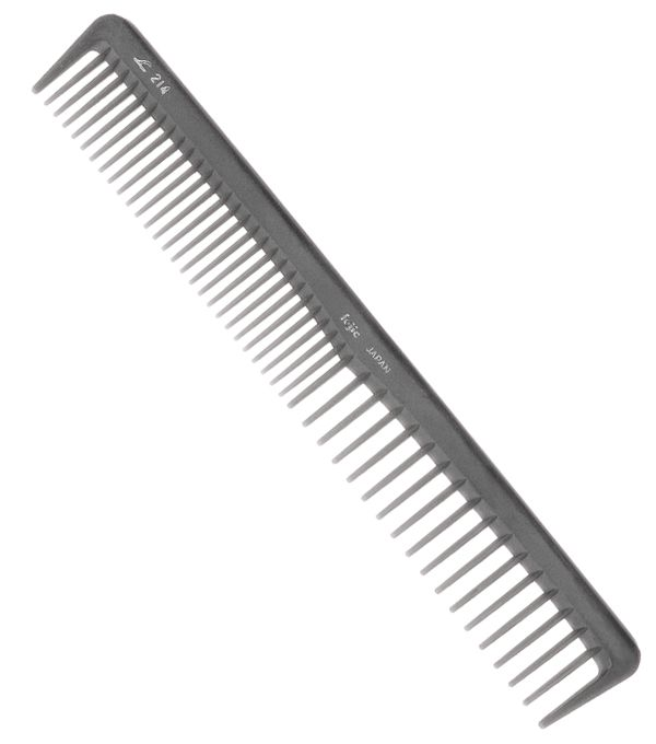 Fejic Carbon-Haarschneidekamm Nr. 214