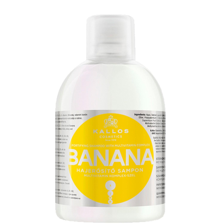 KALLOS COSMETICS KJMN Banana Shampoo 1 L