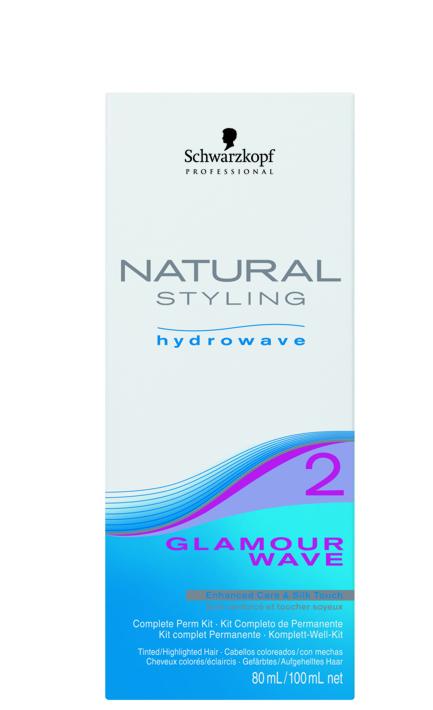 Schwarzkopf NATURAL STYLING Glamour Wave SET 2
