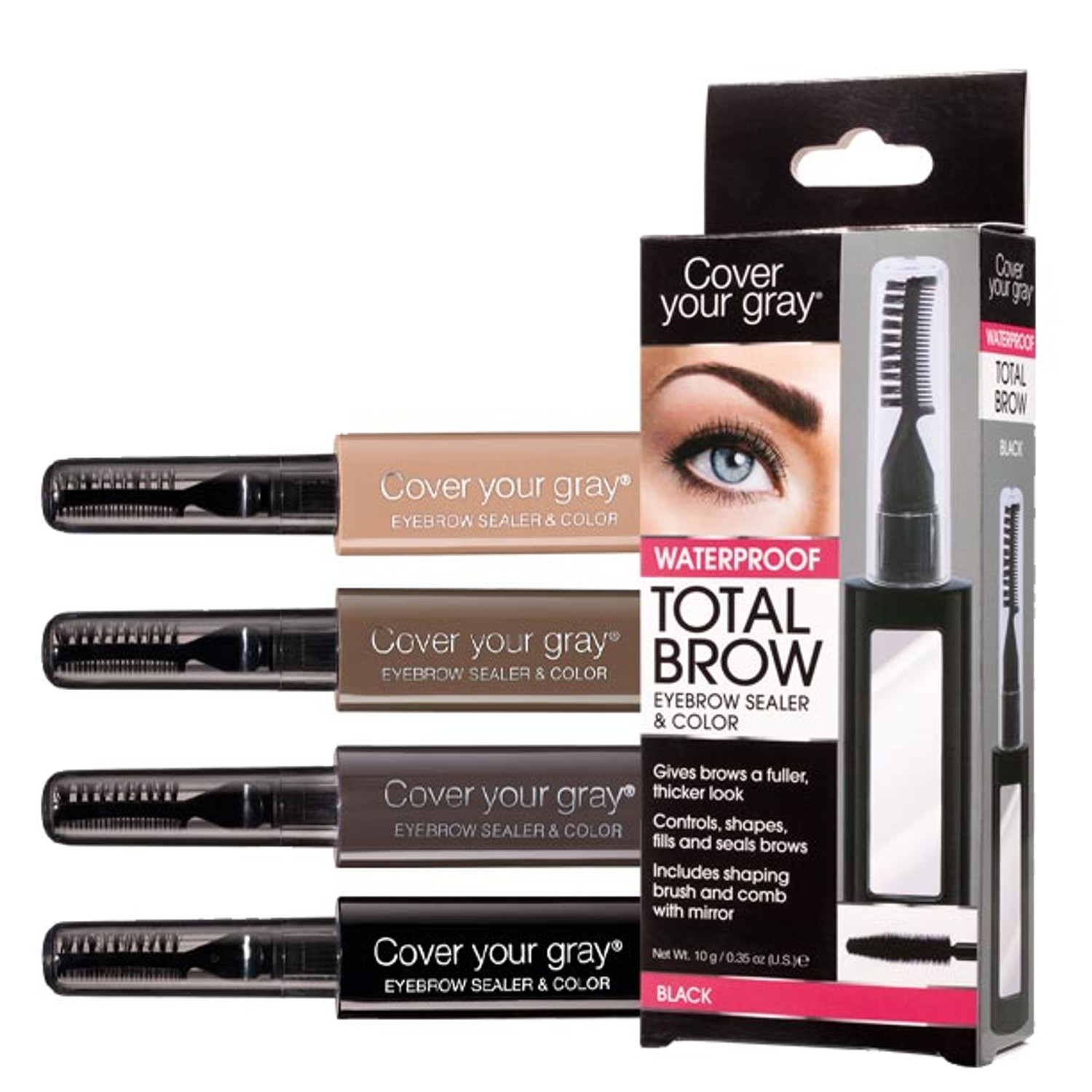 Cover your gray Total Brow waterproof 10 g